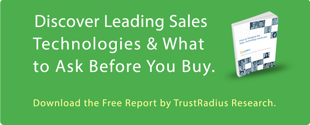 TrustRadius Report on How to Navigate the Sales Technology Landscape